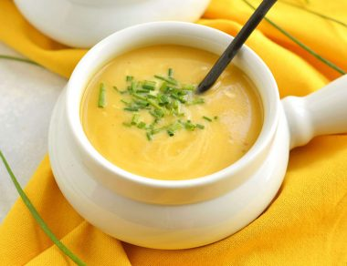 Dreamy Butternut Squash Soup with Pears and Ginger