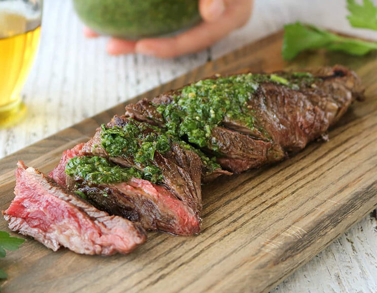 juicy skirt steak featured image