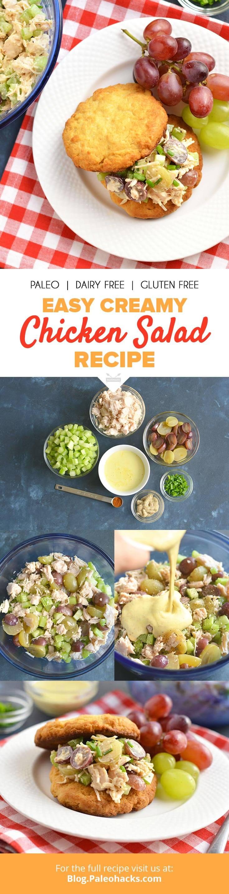 Easy chicken salad recipes