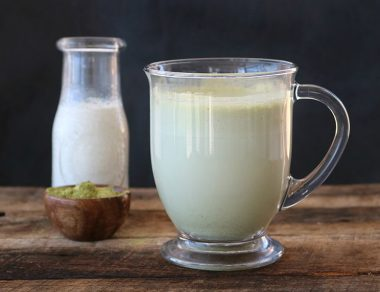 Supercharged Moringa Latte Recipe