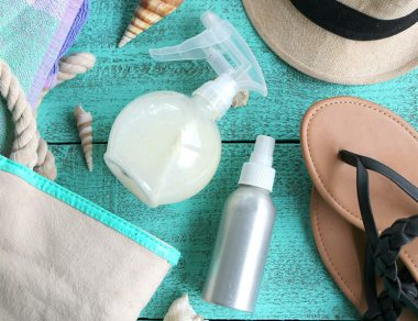 DIY Natural SPF Hairsprays