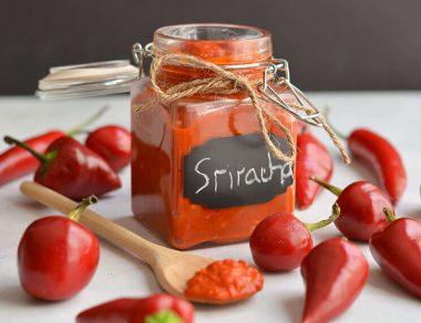 Easy, Simple Homemade Sriracha