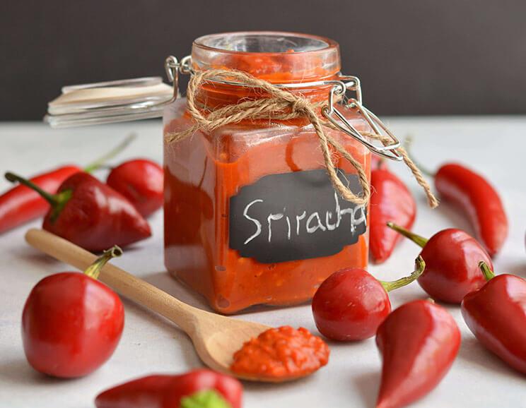 Easy, Simple Homemade Sriracha