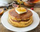 Fluffy, Thick Sweet Potato Pancakes