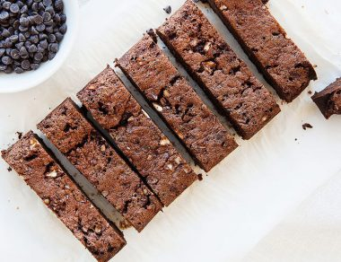 Chocolate Brownie Bread with Coconut Oil