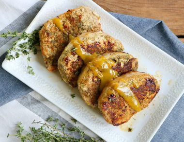 Easy 20-Minute Mustard Pork Chops