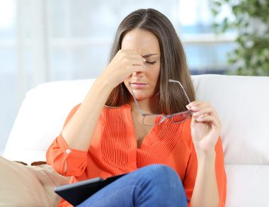 Here's Why Your Eye Keeps Twitching & 5 Natural Remedies to Stop It