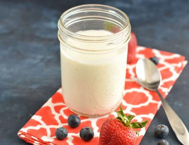 How to Make Dairy Free Coconut Yogurt