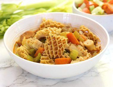 Tripe, Bacon, Bone Broth Gut-Nourishing Stew