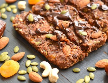 'Whatever Floats Your Boat' Raw Cacao Energy Bars