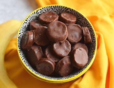 3-Ingredient Chocolate Banana Chips
