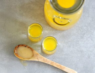 Belly Boost Shot: Turmeric Elixir with Apple Cider Vinegar + Honey