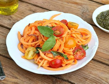 One Pot Sweet Potato Pasta
