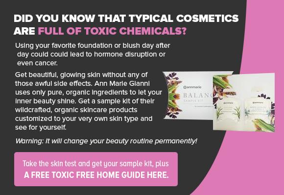 Ann Marie Gianni Skincare CTA Ad