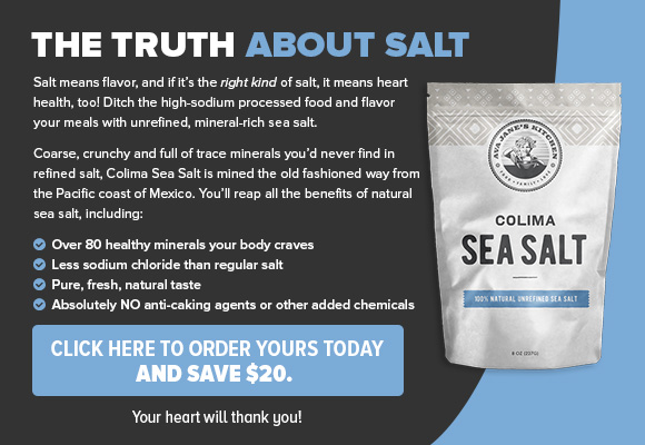 Colima Sea Salt CTA Ad