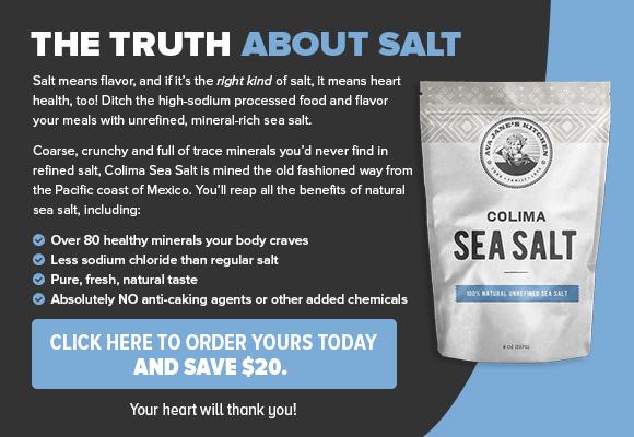 Colima Sea Salt CTA Ad
