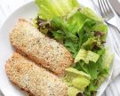 Easy Baked Coconut-Crusted Salmon