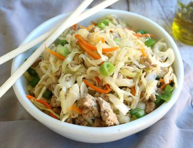 Paleo Pork Eggroll in a Bowl