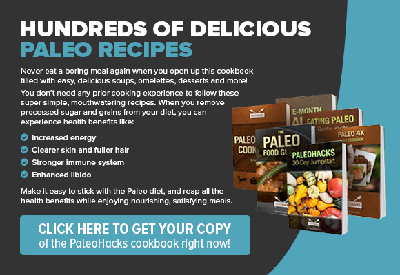 PaleoHacks Cookbook CTA Ad
