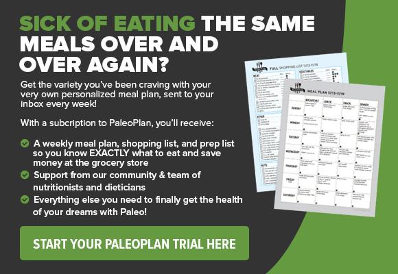 Paleo Plan CTA Ad