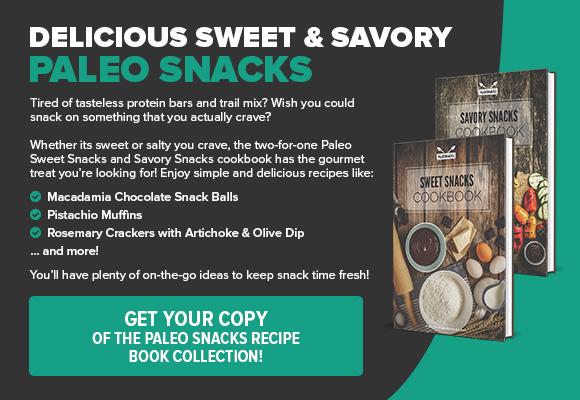 Paleo Snacks CTA Ad