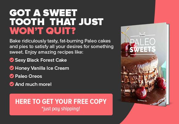 Paleo Sweets CTA Ad