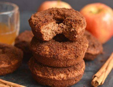 Baked Apple Cider Donuts (Paleo, Gluten Free)