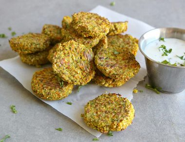 Baked Veggie Turmeric Nuggets (Freeze-Friendly)