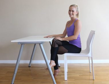 Do These 3 Stretches to Release Neck and Shoulder Pain (At Your Desk)