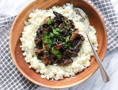 How to Make Meatless Pulled BBQ Mushrooms