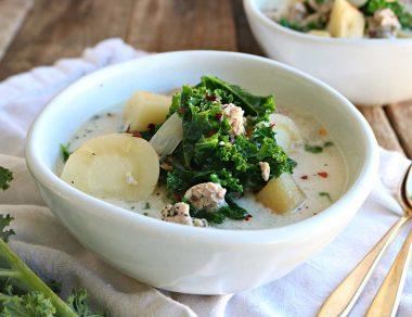 Paleo Zuppa Toscana (Healthier Than Olive Garden!)