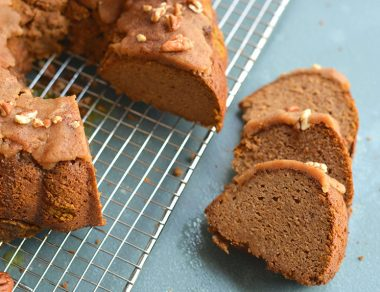Pumpkin Bundt Cake with Pumpkin Spice Frosting