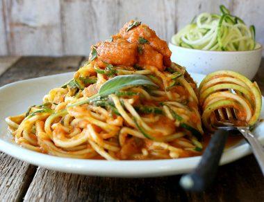 Easy, Healthy Pumpkin Pasta Sauce