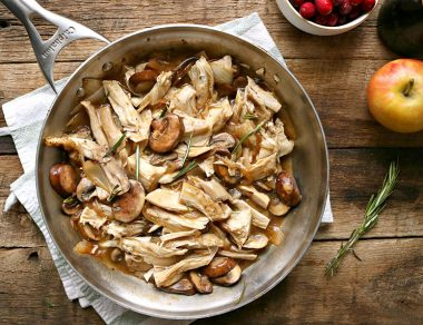 One-Pan Leftover Turkey & Gravy Recipe