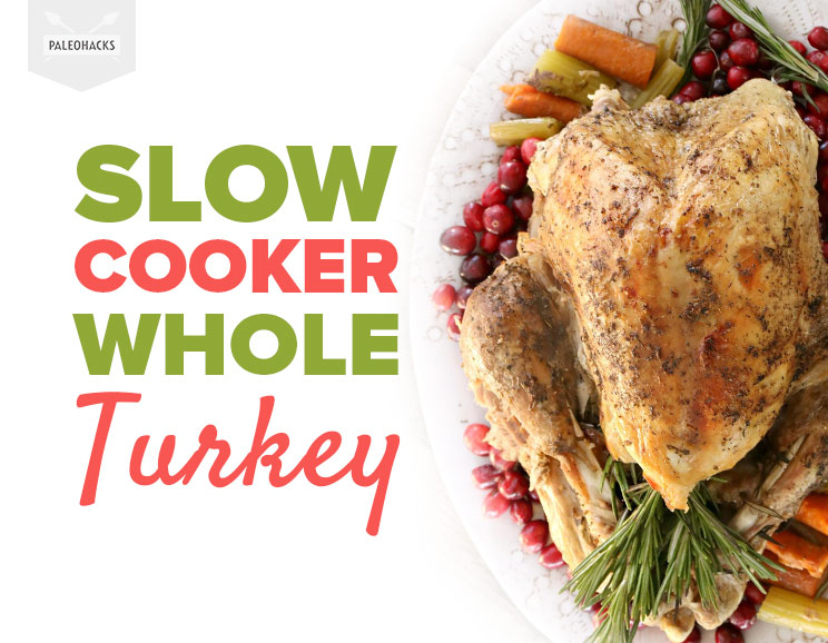 how to cook a whole turkey in a slow cooker