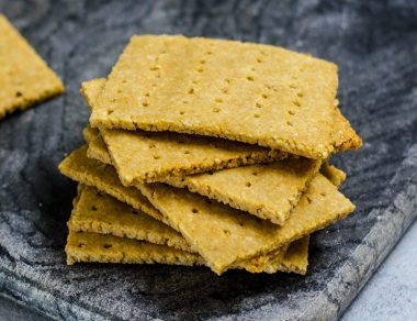 The Best Graham Cracker Recipe (Gluten Free, Paleo)
