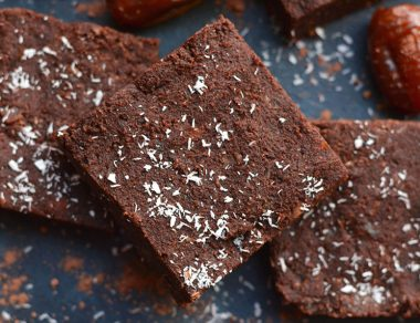 4-Ingredient Paleo Brownies