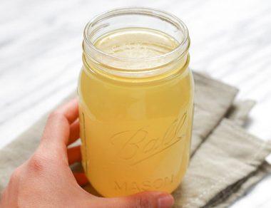 Drink This Healing Lemon-Ginger Bone Broth for Colds & Flu