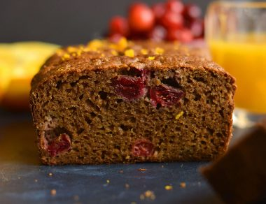 This Cranberry Orange Bread Is Deliciously Grain-Free