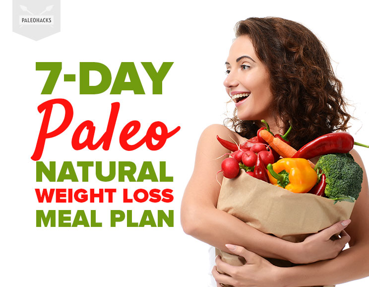 7 Day Paleo Natural Weight Loss Meal Plan