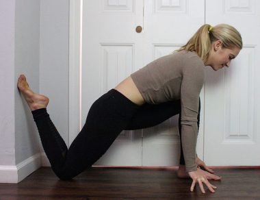 9 Easy Wall Stretches for Tight Hips