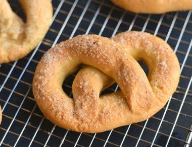 Buttery Soft Pretzel Recipe (Paleo, Gluten Free)