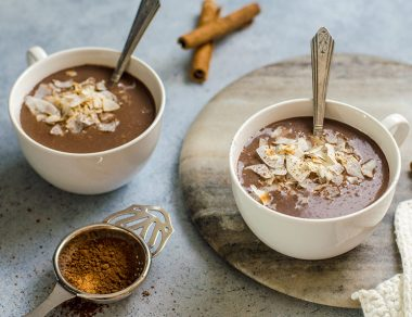 How to Make Toasted Dairy-Free Coconut Hot Chocolate