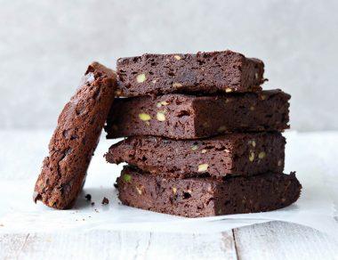 Keto Avocado Chocolate Brownies