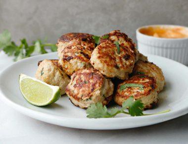 Pork Banh Mi Meatballs