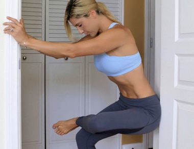 17 Easy Doorway Stretches To Fix Sore, Tight Muscles