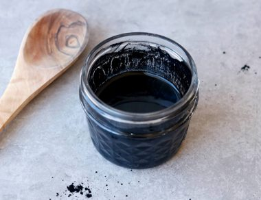 DIY Charcoal Face Mask with Coconut Oil (Detoxes Skin with Only 3 Ingredients!)