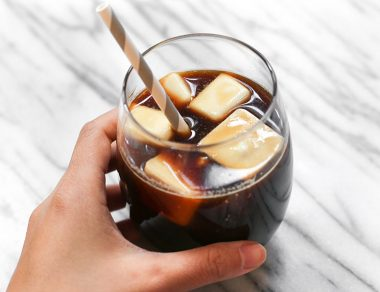 Make Coconut Milk Ice Cubes to Upgrade Your Coffee!