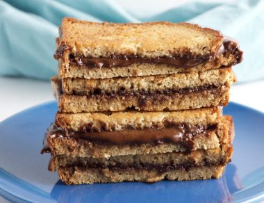 Paleo Grilled 'Nutella' Sandwich
