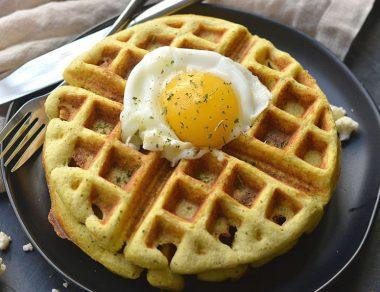 Perfectly Crispy Cauliflower Waffles with Zero Gluten